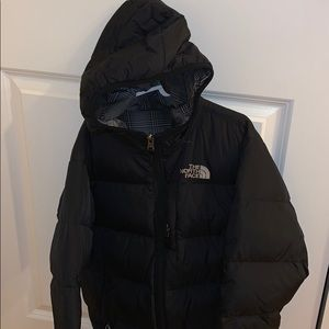 Boys north face puff jacket
